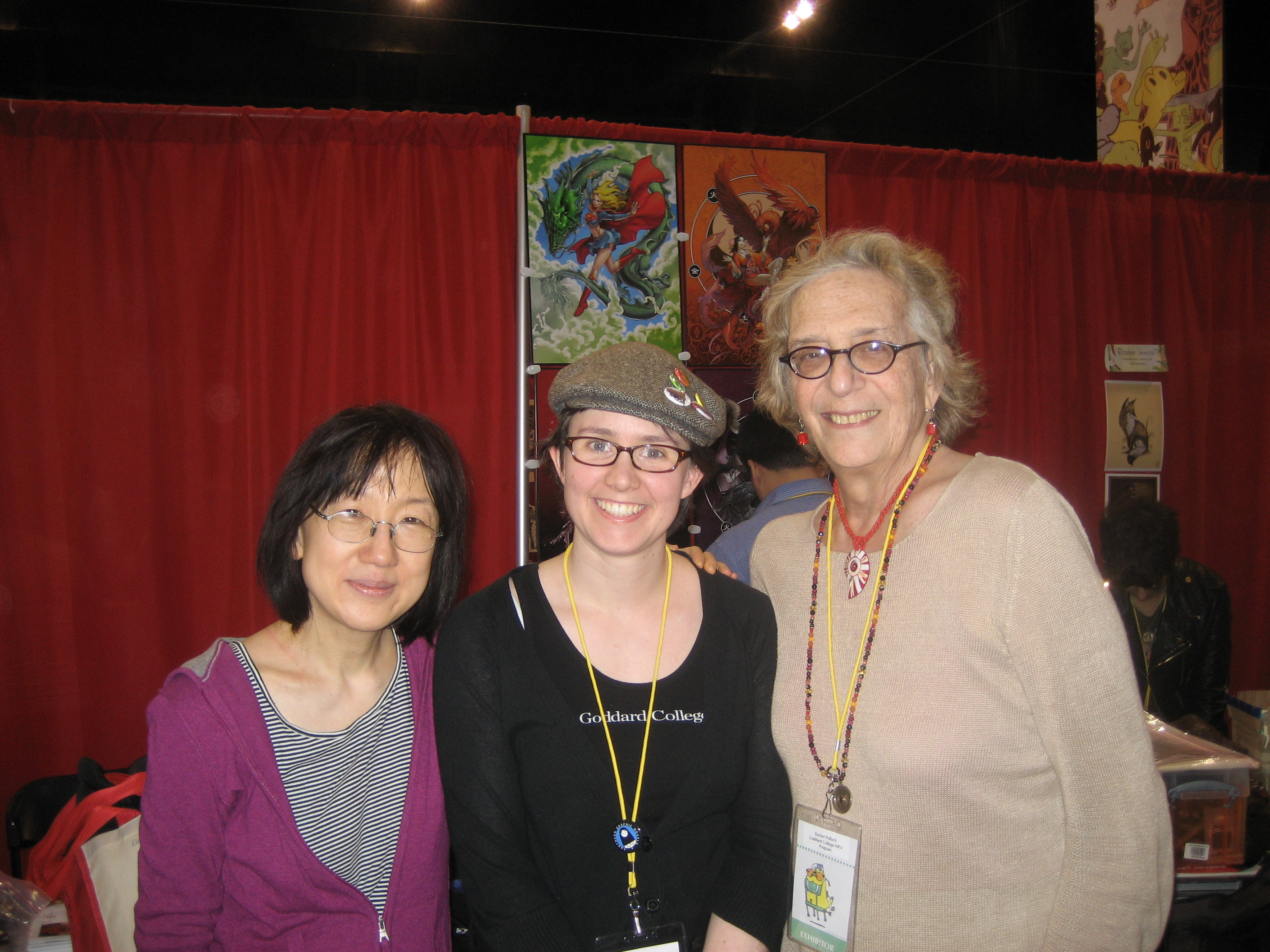 The Graphic Novel with Susan Kim and Rachel Pollack