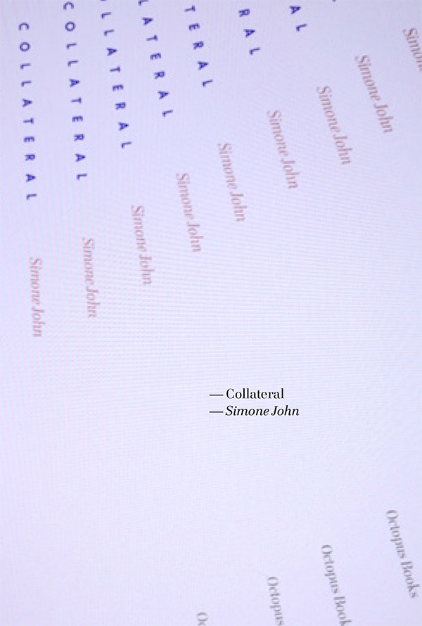 And have you read… Collateral?