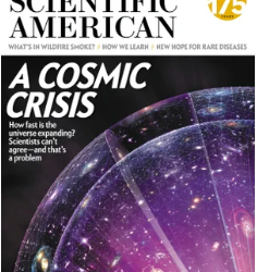 Richard Panek's Scientific American Cover Story