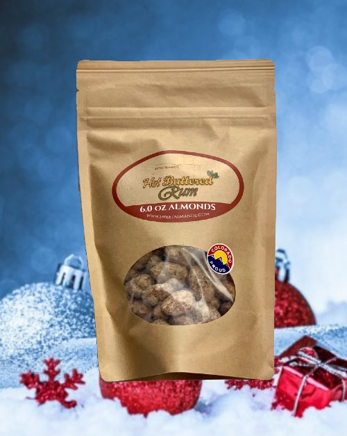 Hot Buttered Rum Almond Snack