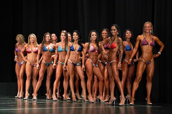 2018 npc mid atlantic bikini competitor lineup