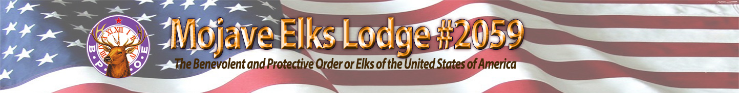 Mojave ELks Lodge #2059 Logo