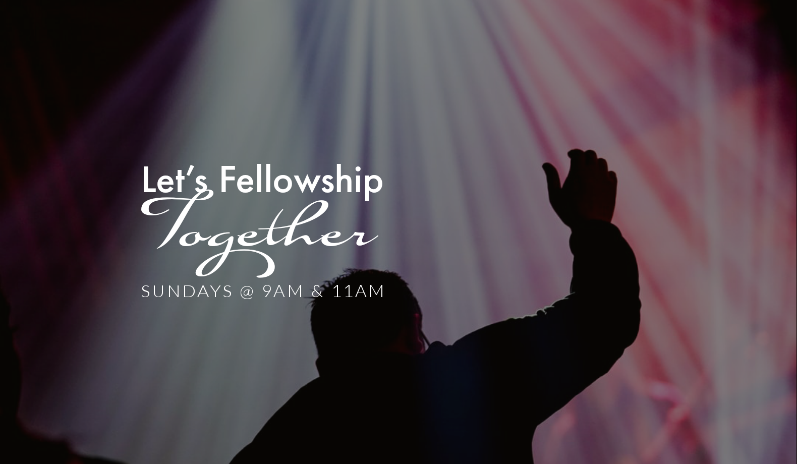 Let's Fellowship Together