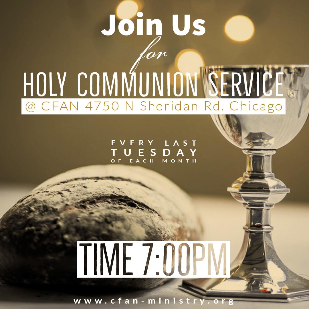 CFAN Holy Communion Service