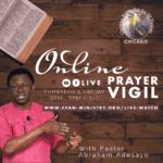 Online Prayer Vigil