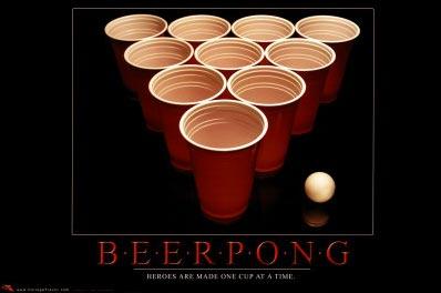 beer pong