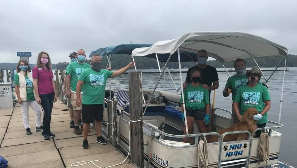 Shore Sweep Volunteers