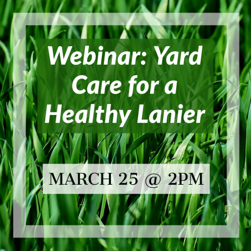 Yard Care for a Healthy Lanier - Webinar