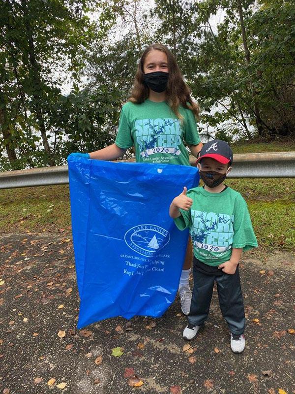 Shore Sweep Children Volunteers