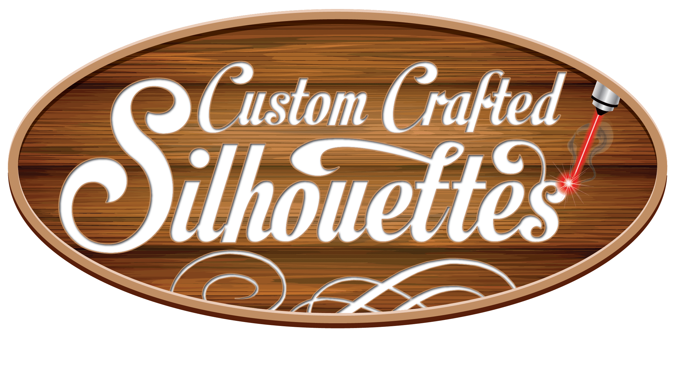 Custom Crafted Silhouettes Logo