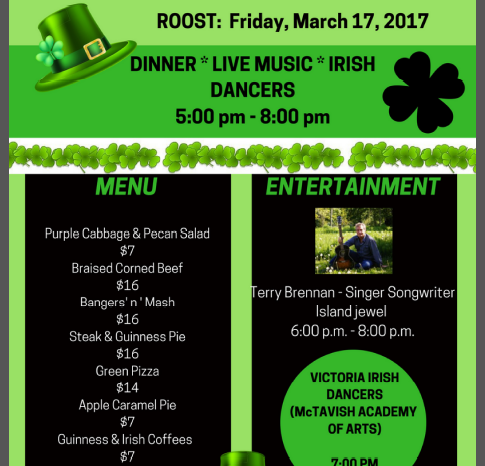 St Patty's Day Sold Out Event