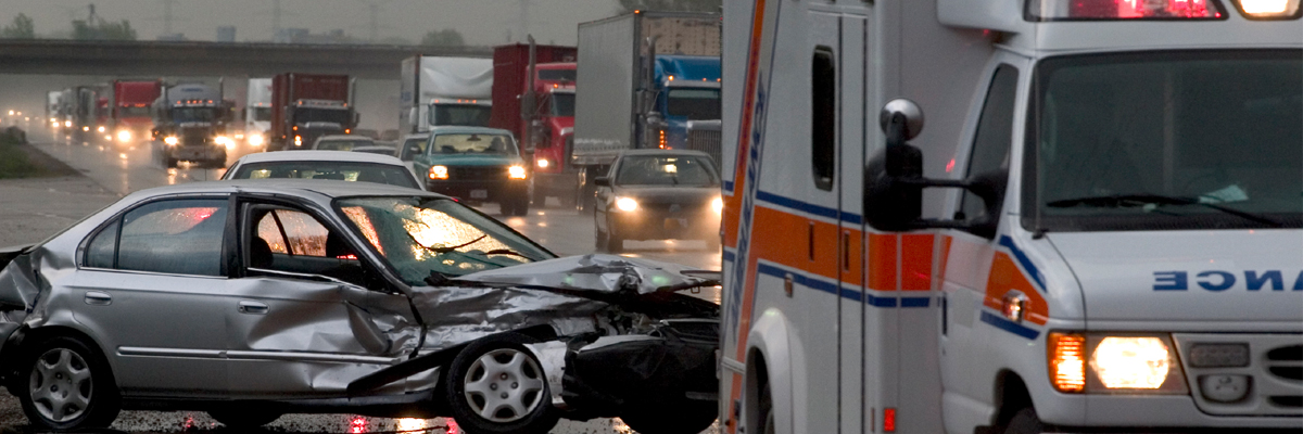 A scene that needs a car accident attorney in Houston, TX