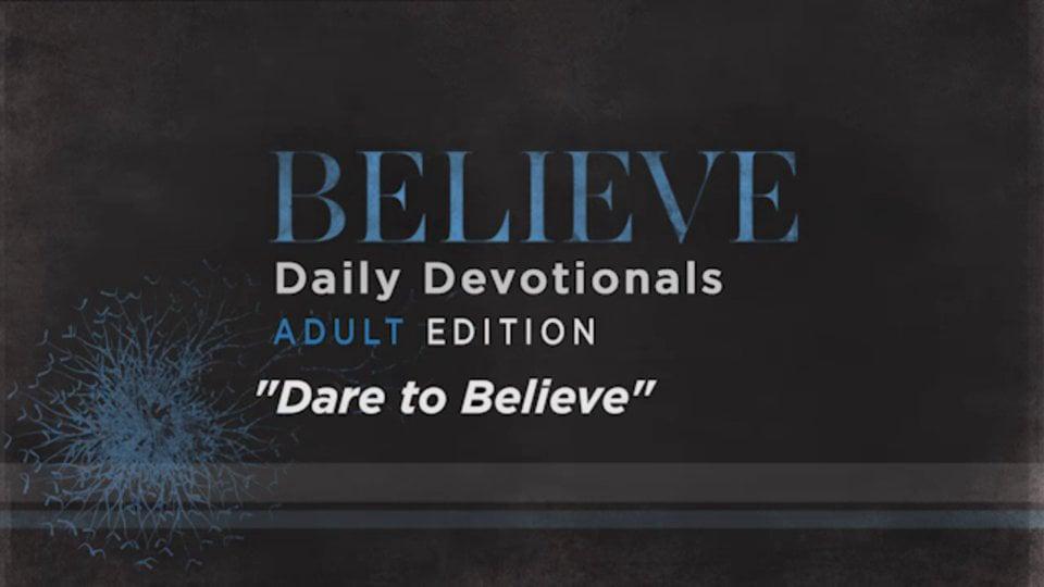 Believe | Dare to Believe | Heath Adamson