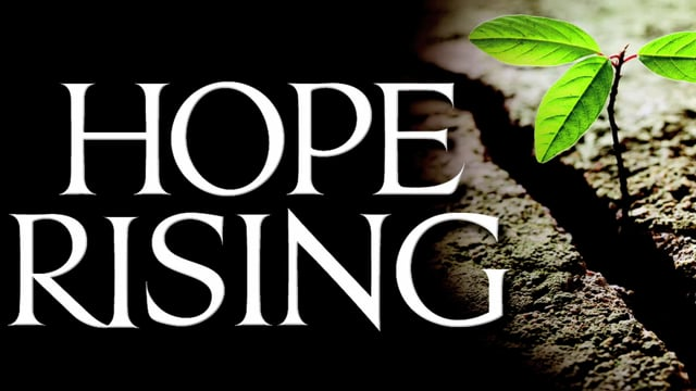 When You're About to Give Up | Hope Rising