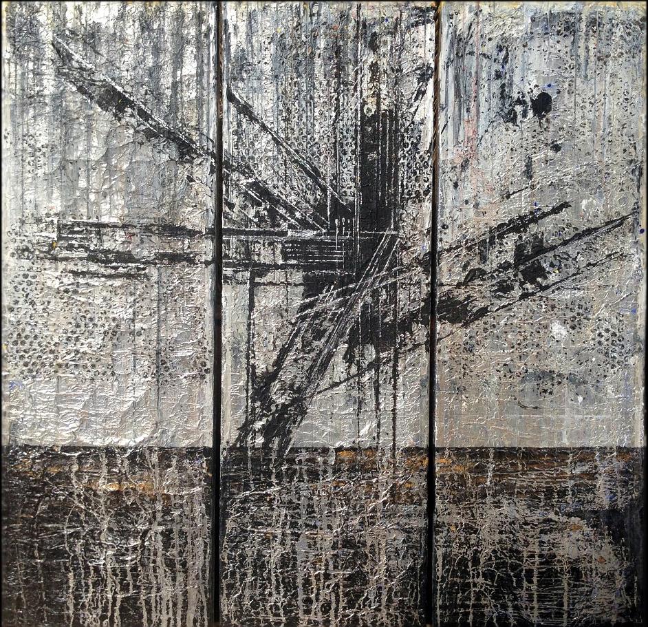 beard bates painting et al. al los angeles canvas abstract contemporary fine art MOCA TATE MODERN
