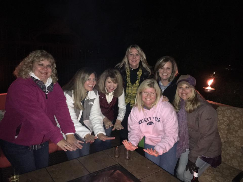 Welcome Back Bonfire organized by the Hospitality Committee