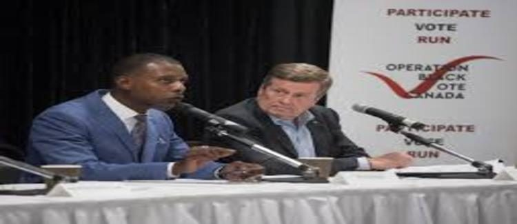 John Tory comes under attack at mayoral debate over past comments on white privilege, racism
