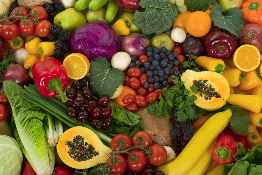 Home Care in Encinitas CA: Eat More Vegetables and Fruits