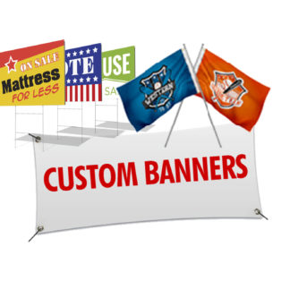 Signage Banners Flags