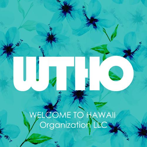 Welcome to Hawaii Organization LLC Logo