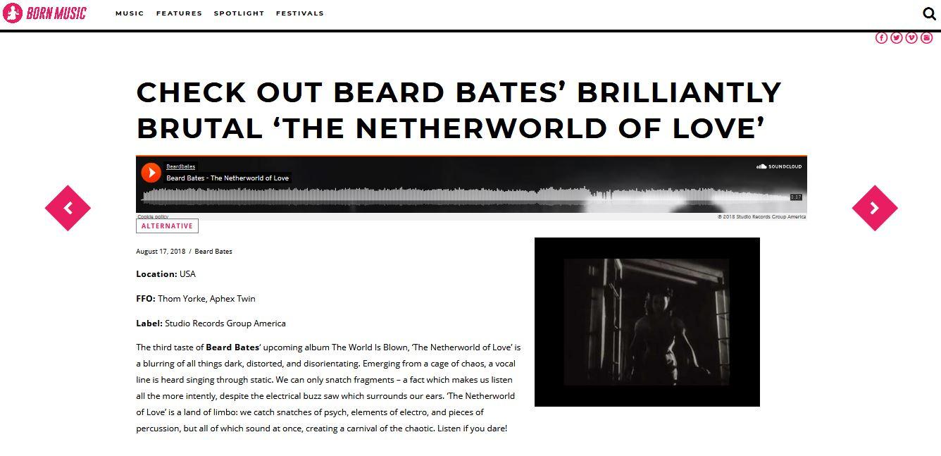 BEARD BATES - BORN MUSIC NETHERWORLD REVIEW