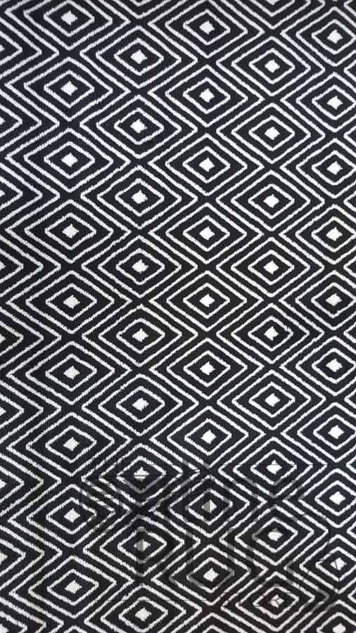 Industry Black and White Geometric Diamond
