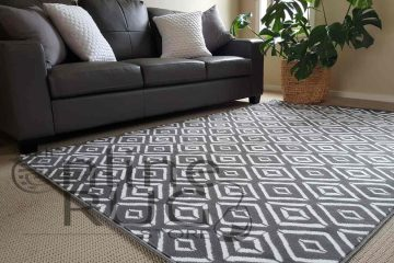 Grey White Geometric Diamond