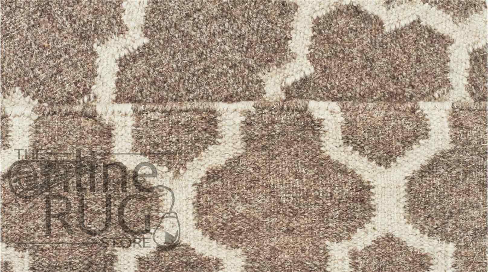 Natural Moroccan Wool Rug