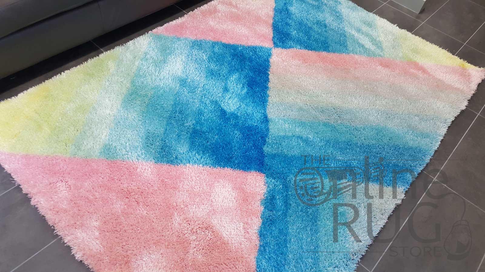 Flash Pink Geometric Stripe