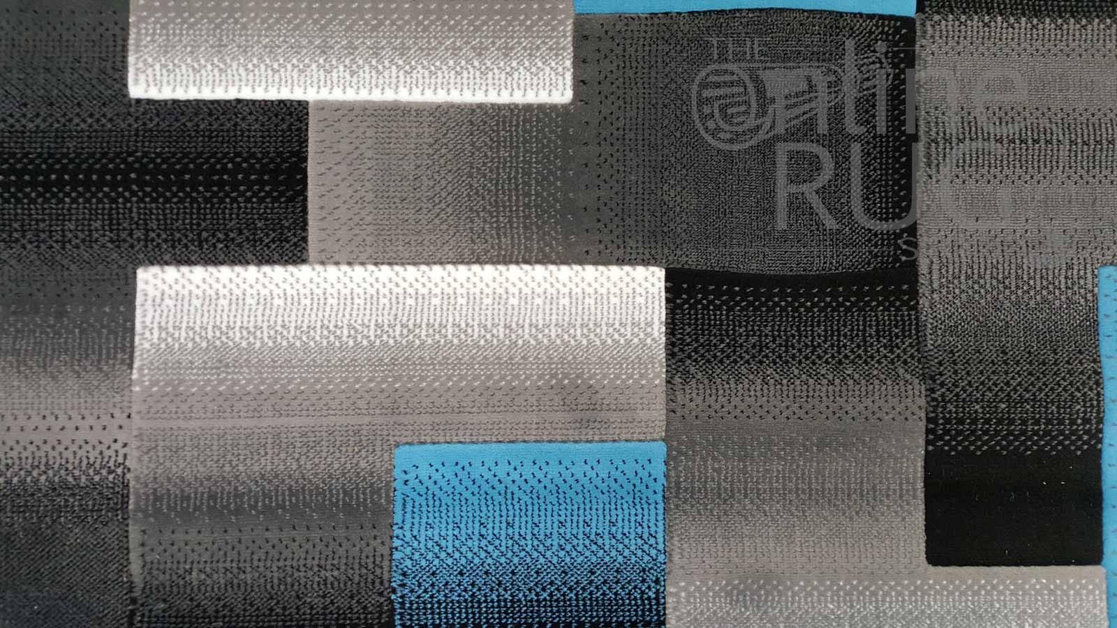 Style Blue Grey Geometric Square