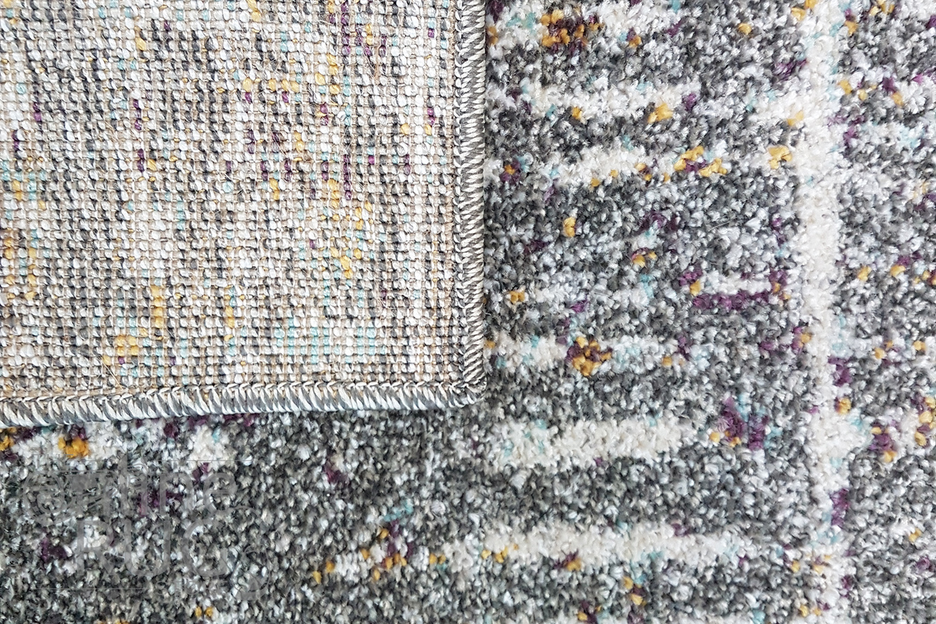 Aspire Multicoloured Abstract Pattern Rug