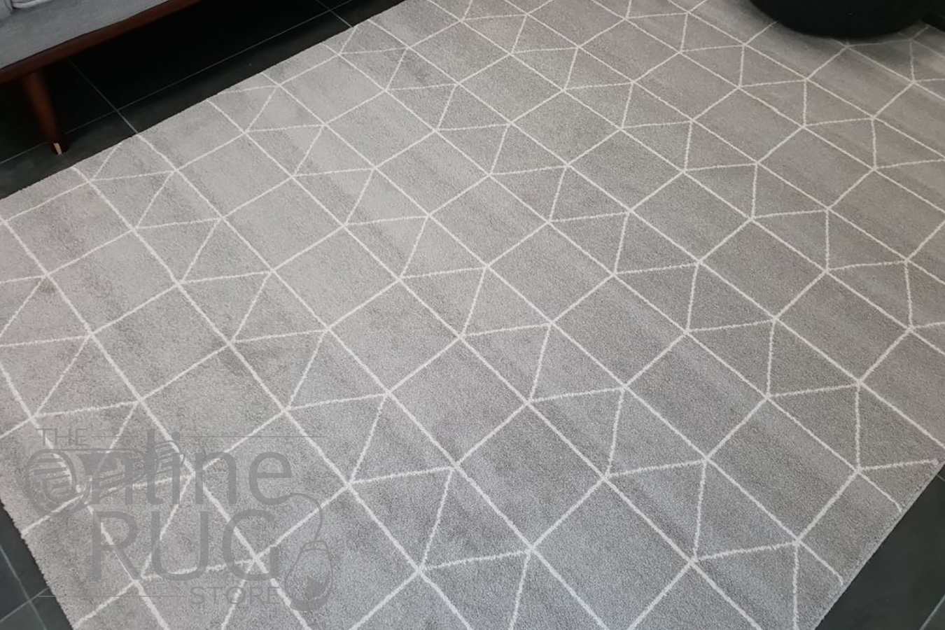 Sienna Beige Geometric Rug
