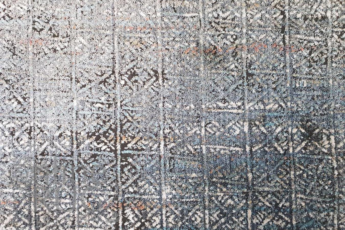 Bella Grey Ethnic Distressed Vintage Rug