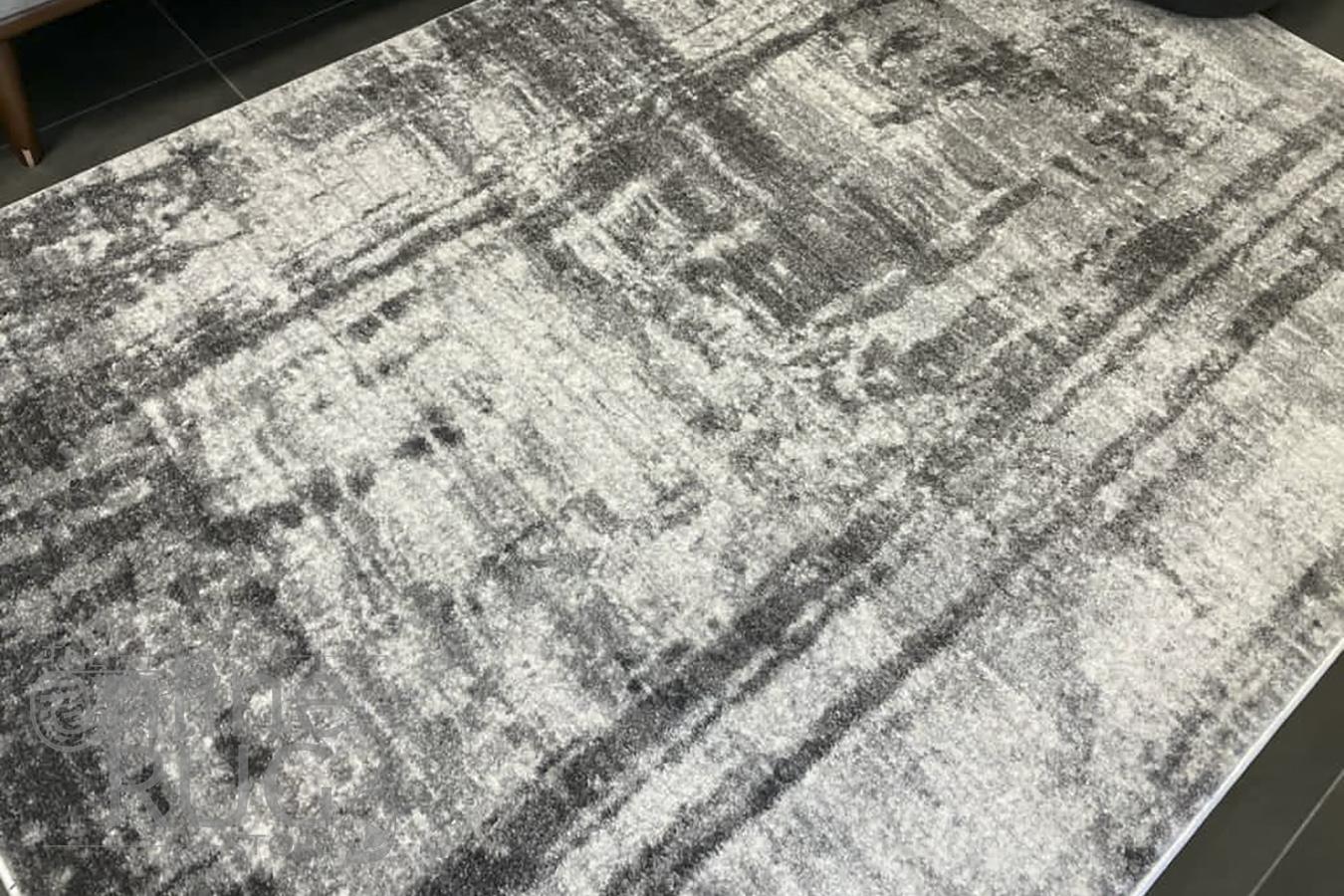 Astra Grey Abstract Rug