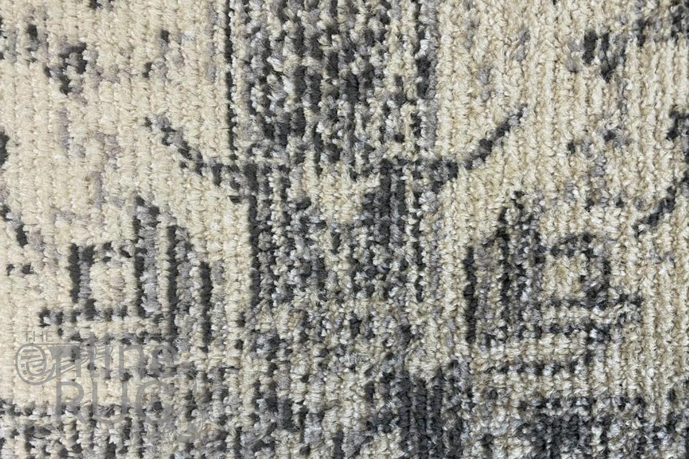 Tula Silver Cream Vintage Rug