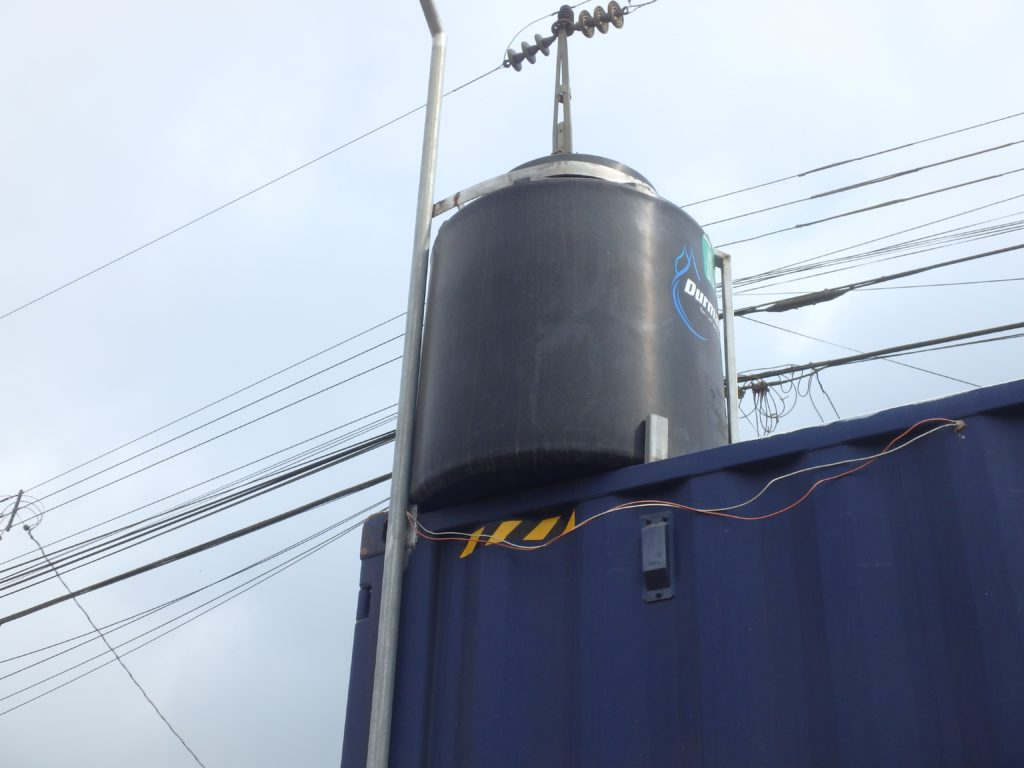 Water Tank on shipping container
