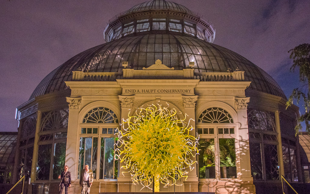 Chihuly After Dark – NY Botanical Gardens, NYC