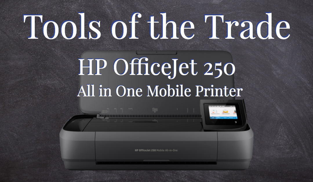 OfficeJet 250 All In One Mobile Printer by HP