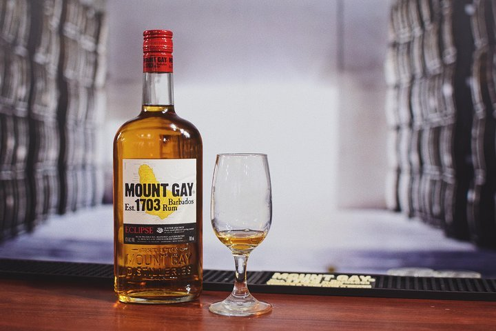Places to go in Barbados Mount Gay Signature Rum Tasting