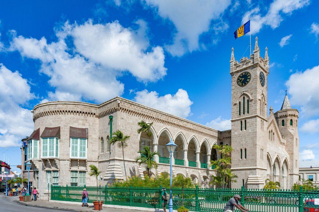 Parliament Building Heroes Gallery Barbados