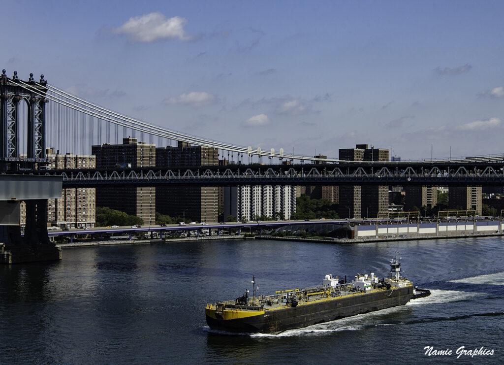 The Manhattan Bridge New York City