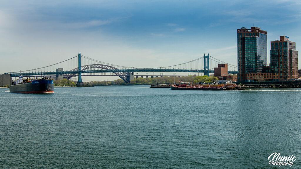 Triborough Bridge & Hell Gate Bridge