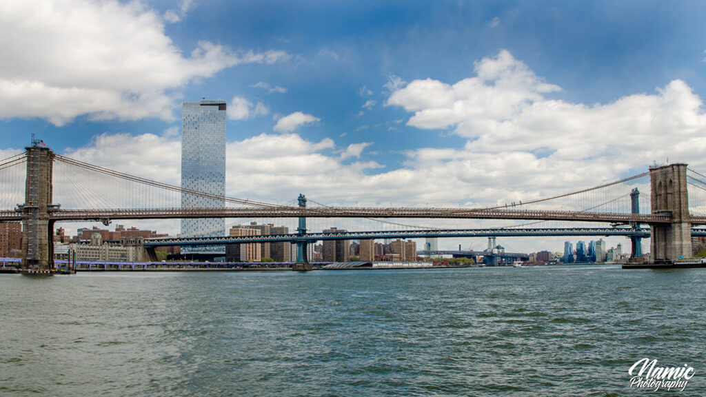 Manhattan to Brooklyn Bridge Veiw