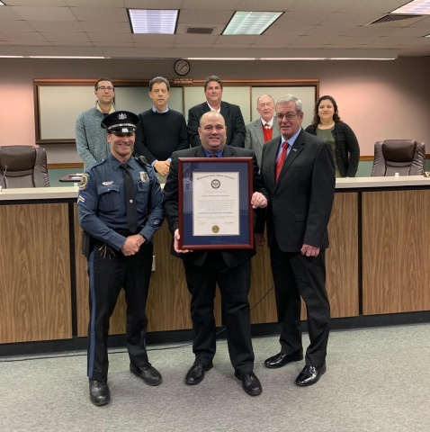 Swatara Police re-certified as accredited agency through chiefs association