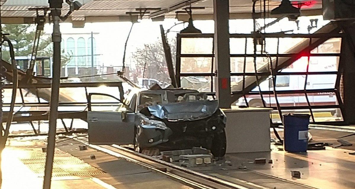 Car wash crash in Manheim Township