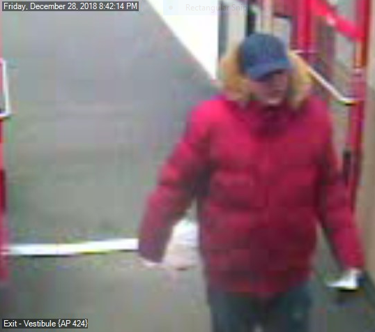 """Dickson City Police looking for """"Puffy Coat Bandit"""""""