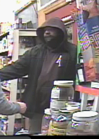Can you help Harrisburg Police identify this alleged armed robbery suspect?