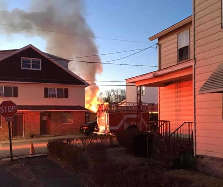 Two Fires in Pittston quickly put out with help from mutual aid, no injuries