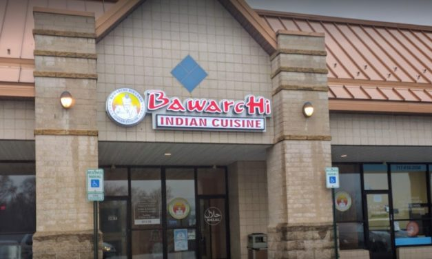 Bawarchi Biryani Point restaurant in Mechanicsburg, 11 violations, fails 2nd inspection since September