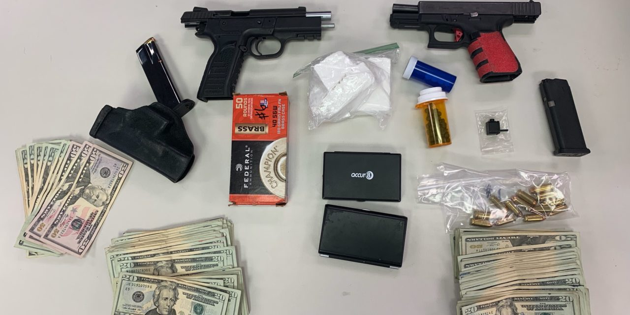 Two York men arrested, charged with drug and gun charges